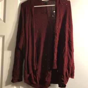 Express sweater. Sz S. NWOT. Red.